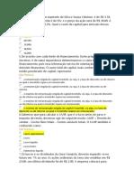 Prova B1 Análise de Investimentos e Fontes de Financiamento (Respondida)