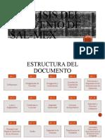 ANÁLISIS DEL CONVENIO DE SAL-MEX