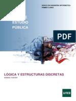 LÓGICA Y ESTRUCTURAS DISCRETAS