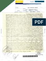 Carta Documento Gerardo Morales