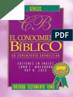 1.- Walvoord, J, Zuck, R, El Conocimiento Bíblico - Génesis