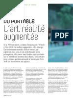 L'art réalité augmentée