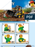 Lego set 60219 City Construction loader