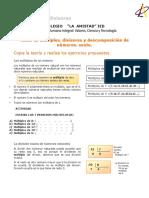Taller 2, Múltiplos, divisores y factores primos. (1)
