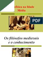 5. Metafísica na Idade Média