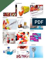 Analgésicosanti inflamatorios antibióticos
