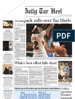 The Daily Tar Heel for February 22, 2011