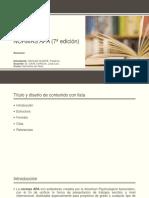 NORMAS APA (7ª edición)