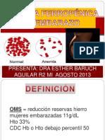 anemiaferropnicayembarazo-140715035010-phpapp02