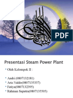 Steam Power Plant Presentation