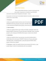 Anexo 1 - Instructivo Matriz FODA