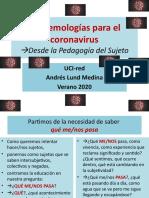 Epistemologías Del Coronavirus