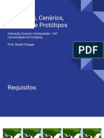 Cenários, Personas e Protótipos em Papel