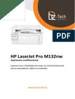Manual Hp m132nw