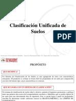 05. Clasificación Unificada de Suelos