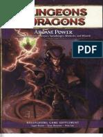 D&D 4E Arcane Power