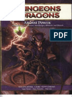 Martial Power Dungeons Dragons 4th Ed Supplement