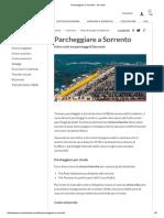 Parcheggiare a Sorrento - Sorrento