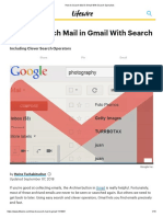 How to Search Mail in Gmail With Search Operators