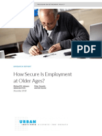 How Secure is Employment at Older Ages 2