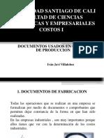 TEMA 03. DOCUMENTOS DE COSTO DE PRODUCCION