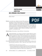 Veliq (2019) A pneumatologia hermenêutica de jürgen moltmann