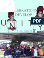 CELEBRATIONS DEVELOP UNITY
