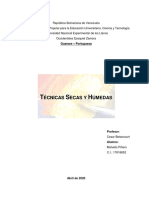 TECNICAS SECAS Y HUMEDAS