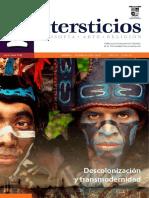 Intersticios 52. Descolonización y transmodernidad