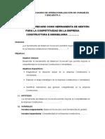 Ingenieria Civil Cuadro de Operacionalización de Variables y Encuesta II