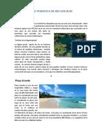 GUIA TURISTICA RIO SAN JUAN