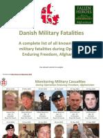 Danish Military Fatalities