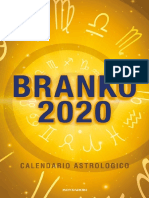 Branko - Calendario Astrologico 2020_2019