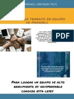 Poster Sobre Las 17 Leyes Del Trabajo en Equipo