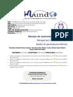 Dialnet-ManejoDeQuemadurasElectricas-7402284