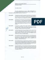 Orden Departamento de Salud sobre vacunación