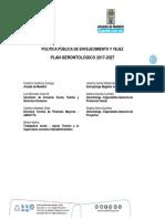 Plan Gerontológico 2017 - 2027 Medellin