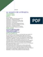 EL MODELO DE ANTIOQUÍA