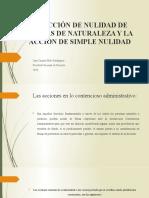 LA ACCIÓN DE NULIDAD DE CARTAS DE NATURALEZA