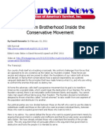 Muslim Brotherhood Inside the Conservative Movement - Horowitz