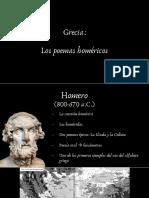HCyC 1.1 Grecia. Los poemas homéricos
