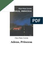 Clara Pinto Correia - Adeus, Princesa