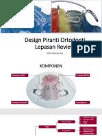 Design Piranti Ortodonti Lepasan Review-Erina Fatmala,drg