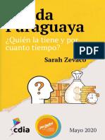 Deuda Paraguaya.¿Quién la tiene y por cuánto tiempo?