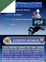 COCIENTE NOTABLES I - LICEO SA