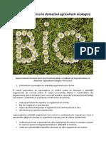 Reprezentanții structurii de la nivel teritorial (DAJ) cu atribuții de inspecții tehnice în domeniul  agriculturii ecologice