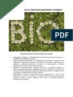 Legislația naţională în domeniul agriculturii ecologice