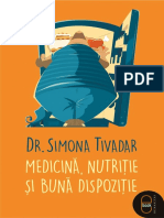 Simona Tivadar - Medicina,Nutritie Si Buna Dispozitie