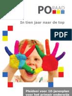 Manifest PO Raad In tien jaar naar de top