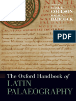 The Oxford Handbook of Latin Palaeography-Oxford University Press (2020)